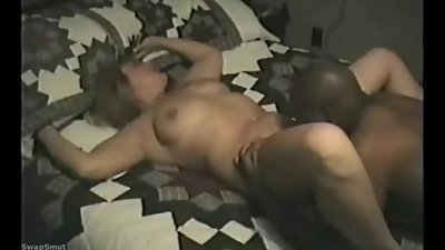 Blonde mom and BBC filmed by husband
