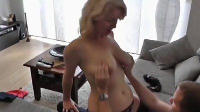 German amateur grandmother gets fucked..