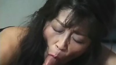 Japanese lovely mom seduce son'n..