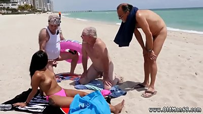 Hot old mature women Staycation with a..