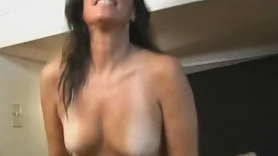 Mature woman fucks stranger in her RV