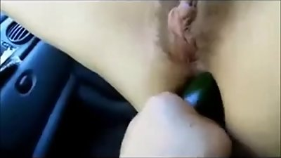 Extreme anal in car with my italian..