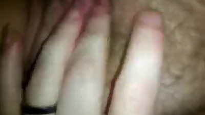 MILF Fingering and Spreading Pussy