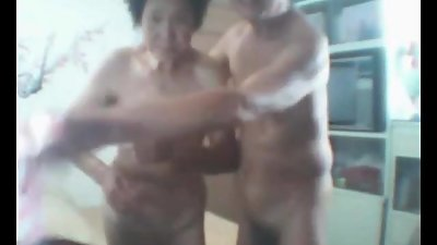 Asian Granny and gramp webcam