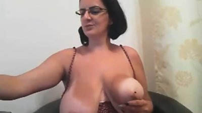 Mature Milf With Huge Natural Boobs
