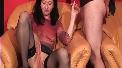 Check My MILF jerking me off Sexy..