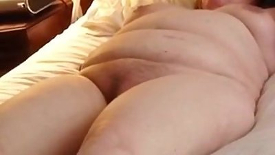 BBW Wife Clair - Fun With Her Dildo