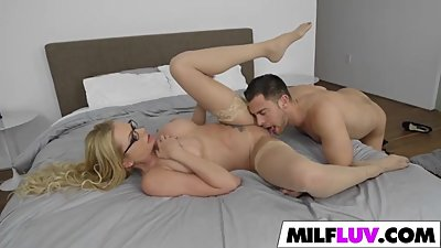 Busting On MILF Briana Banks