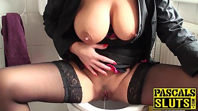 Mature horny blonde Rebecca wants to..