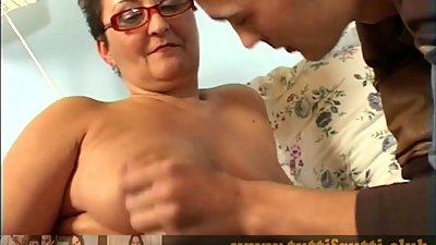 Real amateur Euro mature loves the..