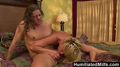 HumiliatedMilfs - Phyllisha Anne Sucks..