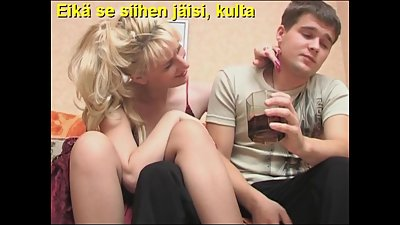 Slideshow with Finnish Captions: Mom..