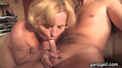 GanzGeil.com Horny mature German woman..