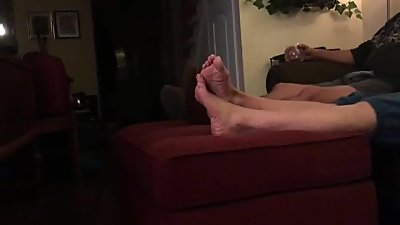 Candid friends moms feet pt 1