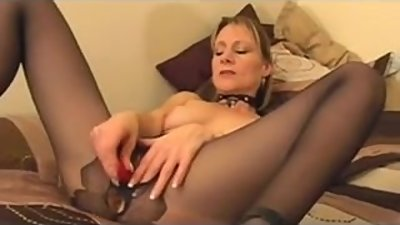 Blonde mature masturbate and fuck
