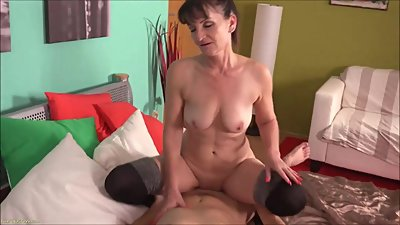Hot Mature Takes Dick Doggystyle