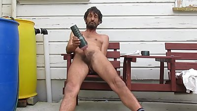 Steve Patrick wanking with fleshlight..